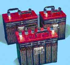 Open Lead/Acid batteries
